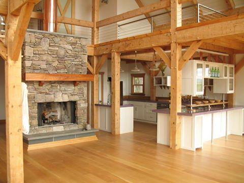 Le concept de la maison en bois est très tendance !