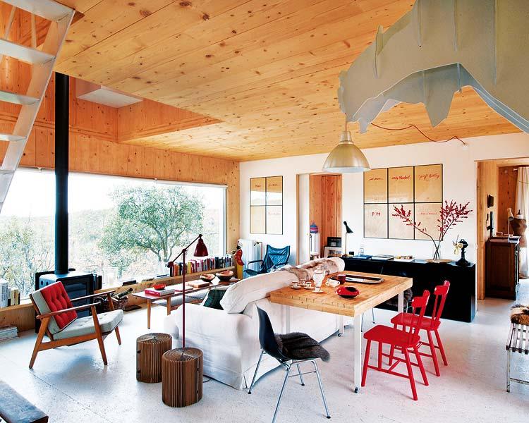sante maison en bois