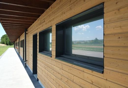 Maison bois modulaire plans permis de construction bbc for Architecture modulaire