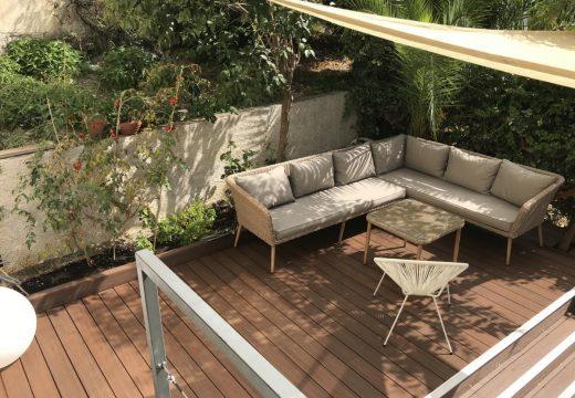 Comment faire une terrasse en bois sur une pelouse ?
